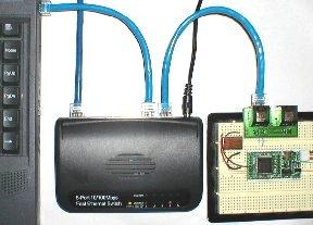 fpga4fun com - 10BASE-T FPGA interface 0 - A recipe to send Ethernet